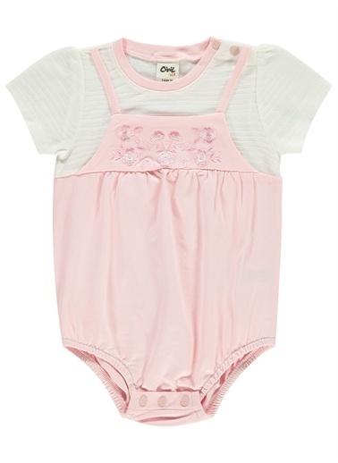 Civil Baby Civil Baby Kız Bebek Tulum 3-12 Ay şeker Pembesi Civil Baby Kız Bebek Tulum 3-12 Ay şeker Pembesi Renkli